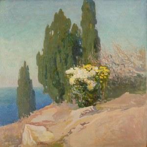Iwan Trusz (1869 Wysocko - 1940 Lwów), Pejzaż krymski