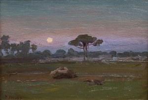 Iwan Trusz (1869 Wysocko - 1940 Lwów), Pejzaż z Krymu