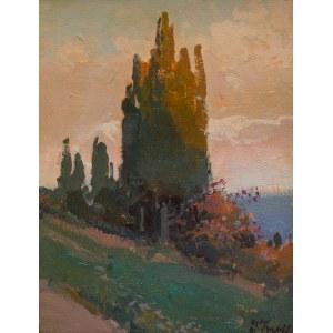 Iwan Trusz (1869 Wysocko - 1940 Lwów), Cyprysy