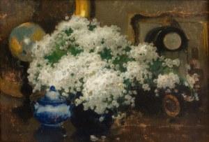 Alfons Karpiński (1875 Rozwadów - 1961 Kraków), Białe kwiaty