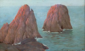 Bronisława Rychter-Janowska (1868 Kraków - 1953 tamże), Capri, 1922 r.