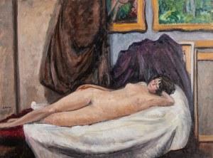 Irena Weiss zw. Aneri (1888 Łódź - 1981 Kraków), Modelka - Akt