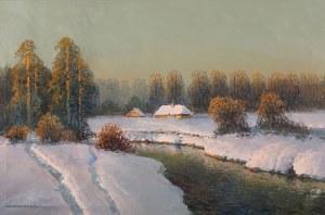 Wiktor Korecki (1890 Kamieniec Podolski - 1980 Milanówek k. Warszawy), Droga przy rzeczce