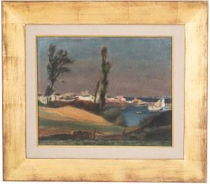 Henryk Hayden (1883 Warszawa - 1970 Paryż), Widok na zatokę
