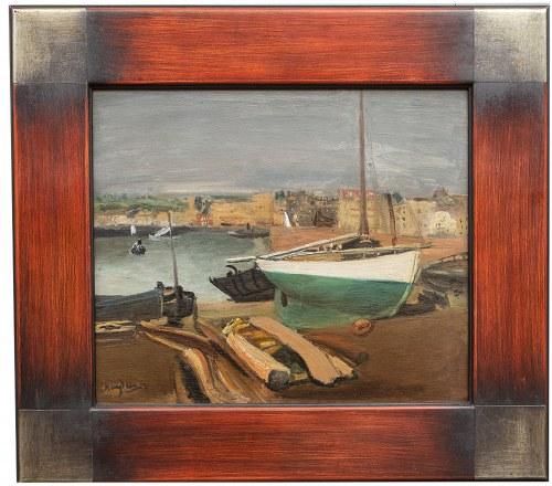 Henryk Hayden (1883 Warszawa - 1970 Paryż), Port w Cherbourgu, ok. 1938 r.