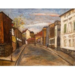 Nathan Grunsweigh (1883 Kraków - 1956 Paryż), Rue Mongenot w Saint-Mandé jesienią