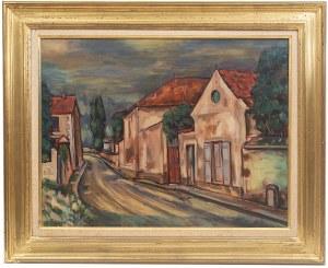 Michel Adlen (1898 Łuck – 1980 Paryż), Francuska wioska