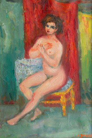 Jakub Zucker (1900 Radom - 1981 Nowy Jork), Różowe ciałko