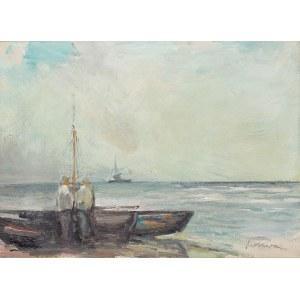 Marian Mokwa (1889 Malary - 1987 Sopot), Dwóch rybaków