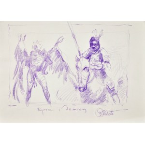 Dariusz Kaleta Dariuss (Ur. 1960), Rycerz i demon
