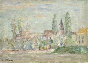 Henryk KRYCH (1905-1980), Pejzaż z Nowego Miasta