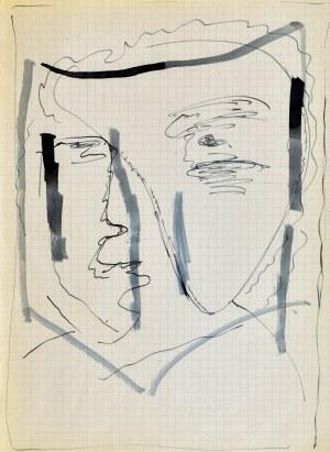 Jerzy PANEK (1918-2001), Głowa - autoportret II, 1963