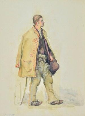 Józef PIENIĄŻEK (1888-1953), Góral z Tylmanowej, 1933