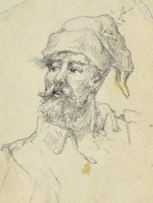 Tadeusz RYBKOWSKI (1848-1926), Portret kozaka