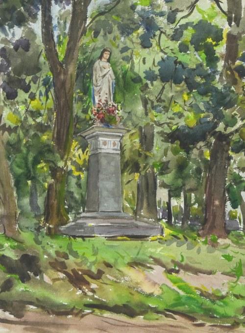 Władysław SERAFIN (1905-1988), Kapliczk przydrożna
