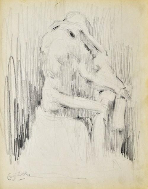Eugeniusz ZAK (1887-1926), Szkic rzeźby