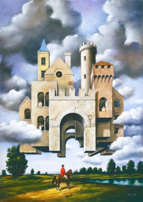 Rafał Olbiński, Zamek w chmurach S