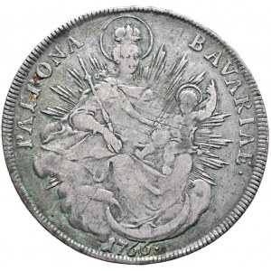 Niemcy, Bawaria, Maksymilian III Józef, talar 1766