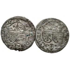 Zygmunt III Waza, 2 x szeląg 1616, Wilno.