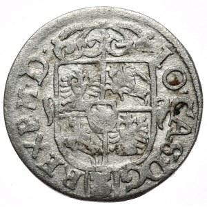 Jan Kazimierz, półtorak 1662, Poznań, bez obwódek