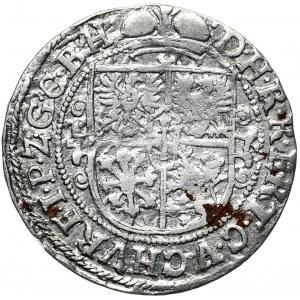 Prusy Książęce, Jerzy Wilhelm, ort 1621, Królewiec, popiersie bez mitry