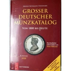 AKS, Katalog monet niemieckich od 1800 roku, Arnold, Küthmann, Steinhilber, Grosser Deutscher Münzkatalog von 1800 bis heute, wydanie 2020