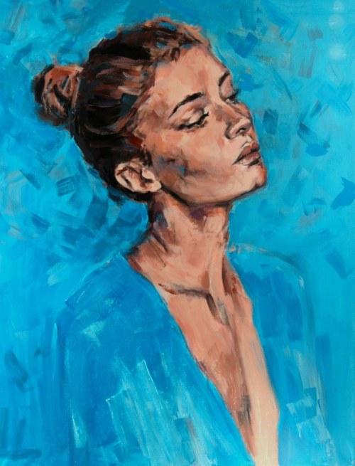 Joanna Jamielucha, W błękicie