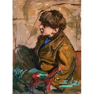 Sławomir J. Siciński, Studium chłopca z drewnianym konikiem