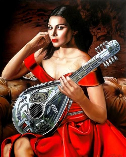 Kamila Stępniak, Dziewczyna z mandoliną