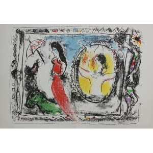 Marc Chagall, Po drugiej stronie lustra