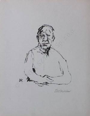 Oskar Kokoschka, Autoportret