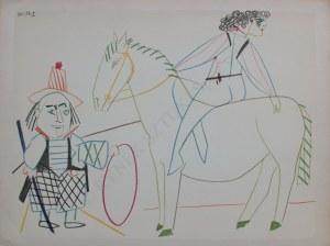 Pablo Picasso, La Comedie Humaine - 30.I.54.II