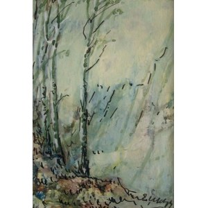 Emil Ukleja, Pejzaż z drzewami