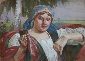 Wincenty Wodzinowski, Dziewczyna w stroju ludowym