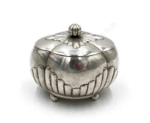 Cukiernica art déco, srebro