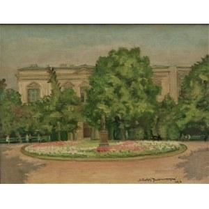 Błażej Iwanowski(1889-1966),Park przed pałacem,1964