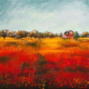 Natasza Mirak (ur. 1976), Jesień w Smalandii, 2021