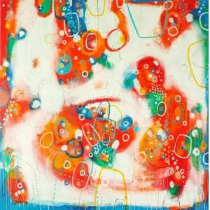 Marlena Rakoczy (ur. 1976), W czerwieni, 2021