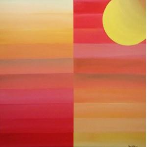 Tobiasz Kenio (ur. 1979), Pejzaż podlaski, 2020