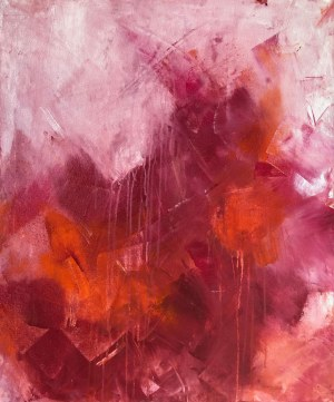 Joanna Wietrzycka (ur. 1978), The power of crimson 1/2,