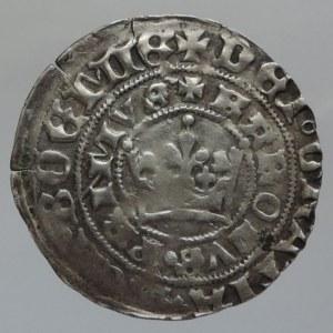 Karel IV. 1346-1378, pražský groš Pinta V.a, Sm.7