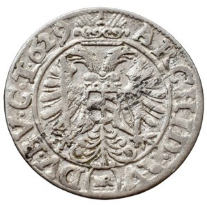 Ferdinand II. 1619-1637, 3 krejcar 1629 HR Vratislav