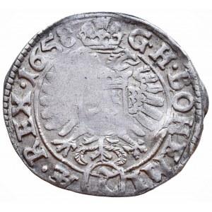 Leopold I. 1657-1705, 3 krejcar 1658 Kutná Hora