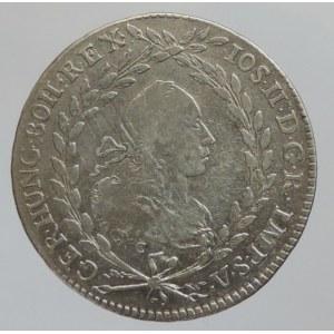 Josef II. 1780-1790, 20 krejcar 1782 C