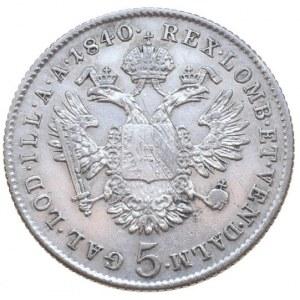 Ferdinand V. 1835-1848, 5 krejcar 1840 C