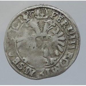 Šlik Jindřich 1612-1650, 3 krejcar 1630 IC Planá