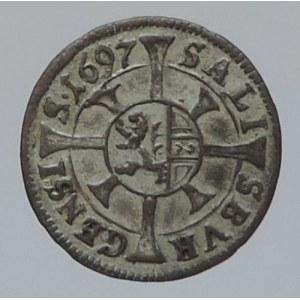 Salzburg arcibiskupství, Johann Ernst 1687-1709, 1 krejcar 1697