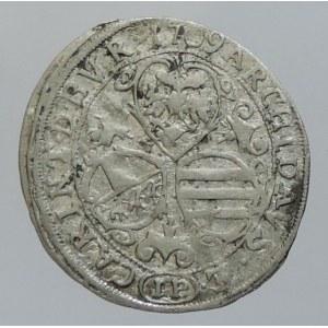 Josef I. 1705-1711, 3 krejcar 1709 IP Sv. Vít