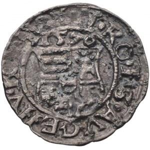 Maxmilián II. 1564-1576, denár 1570 KB