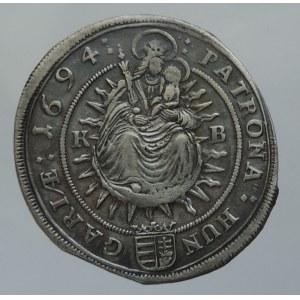Leopold I. 1657-1705, XV krejcar 1694 KB